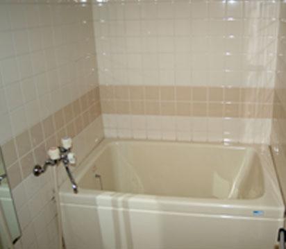 施工前のお風呂