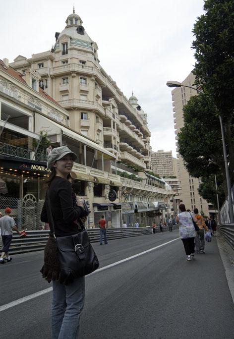 モンテカルロ市街