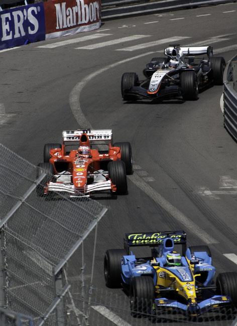 ルノー、フェラーリ、マクラーレンそろい踏みのモナコグランプリ