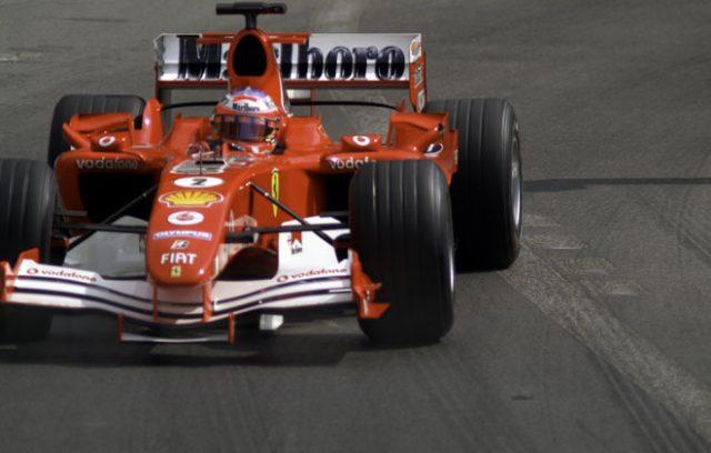フェラーリのバリチェロもこの頃は元気だった。