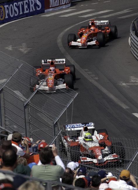 トヨタとフェラーリの熱い戦いのモナコグランプリ