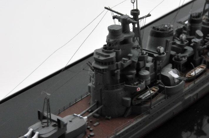 1/700ウォーターラインの重巡洋艦の妙高