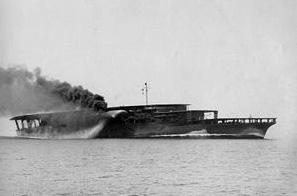 航空母艦 赤城 3段甲板