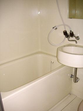 浴室コーティング後の写真