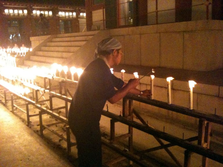 四天王寺の万燈供養