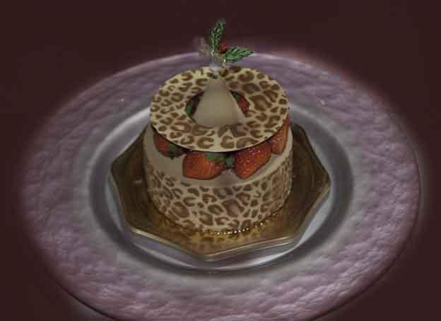 窪田パテシエオリジナルのクリスマスケーキ