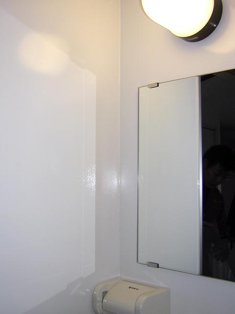 コーティング施工後の壁