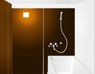 レインボー21お風呂コーティング提案パース