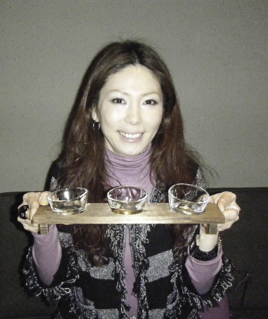 神田の日本酒の利き酒セット