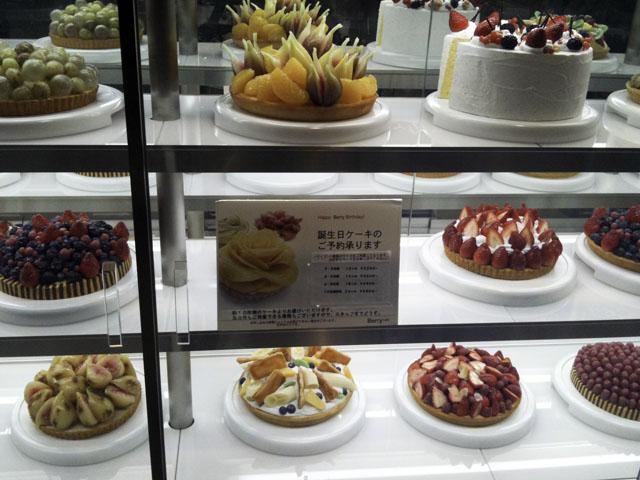 Berry cafeのスイーツ