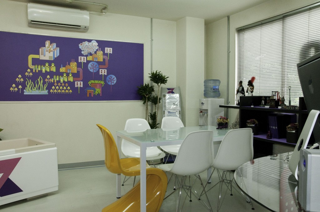 リプロの事務所の模様替え
