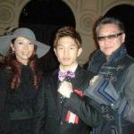 リプロ社長と井岡選手と女王