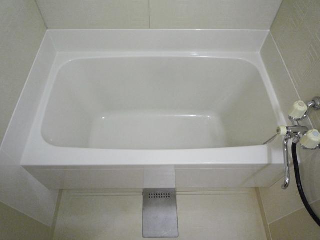 浴槽を塗装したお風呂