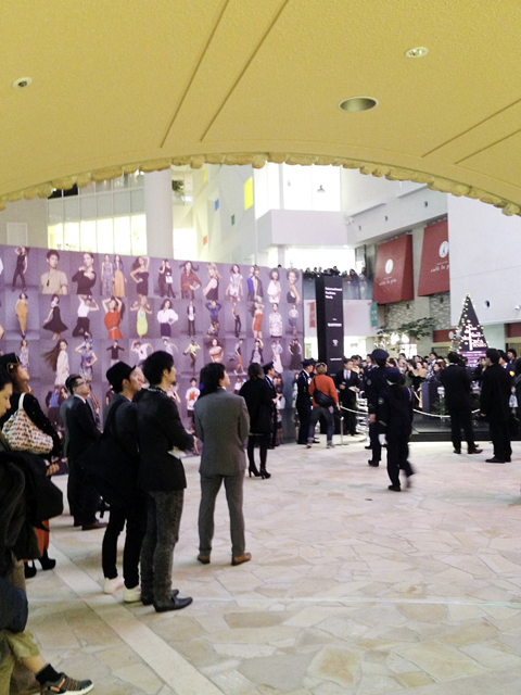 vouge fno in osaka会場