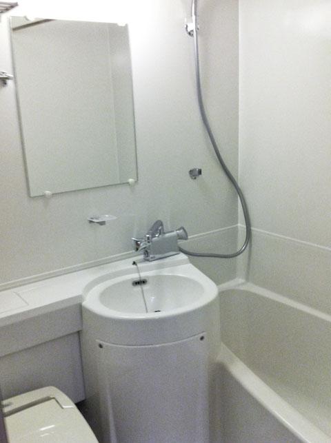 浴室コーティングの完成