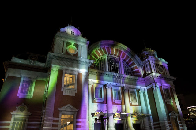光のショーの中央公会堂4