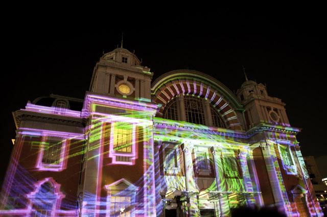 光のショーの中央公会堂7