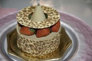 窪田秀樹さんのクリスマスケーキの写真
