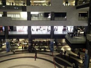 グランフロント大阪3階より