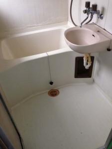 25年以上使用しサビの出ているユニットのお風呂