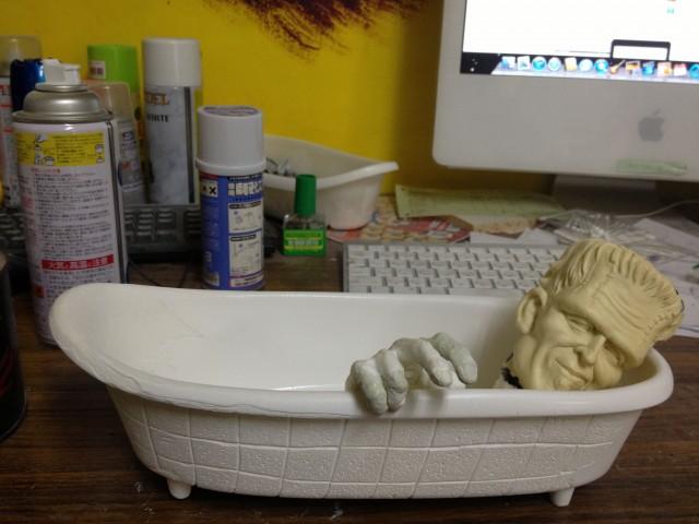 フランケンシュタインのお風呂