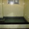 奈良の観光旅館の痛んだタイルのお風呂リフォーム(パネル編)
