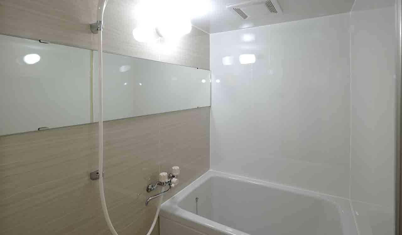 アイカ浴室セラールを使ったリフォーム例