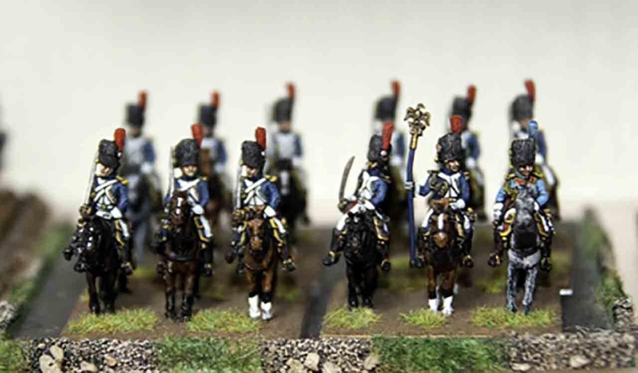 15mmナポレオン戦争フランス軍近衛擲弾騎兵