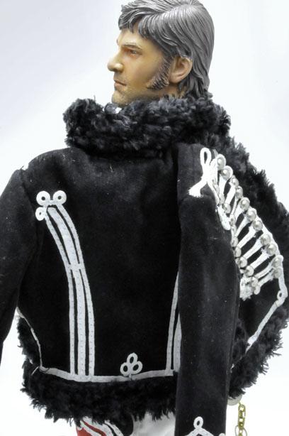 イギリス軽騎兵の衣裳のドルマン