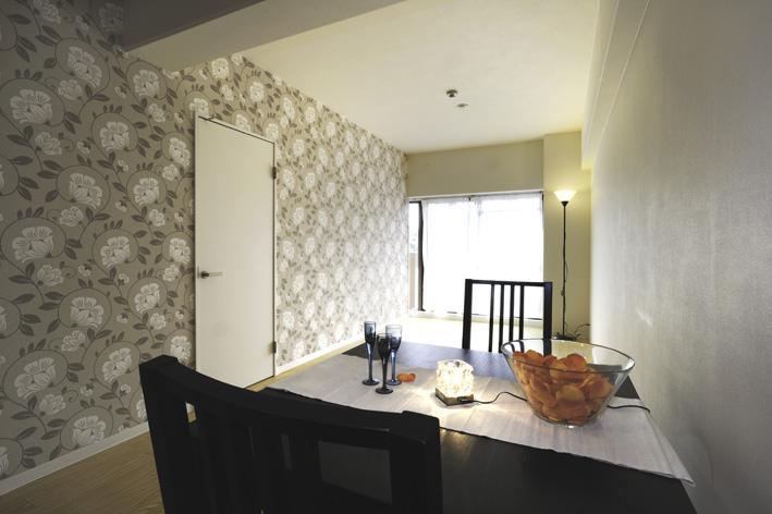 モダンアパートメントのプロデュースのマンションの内装