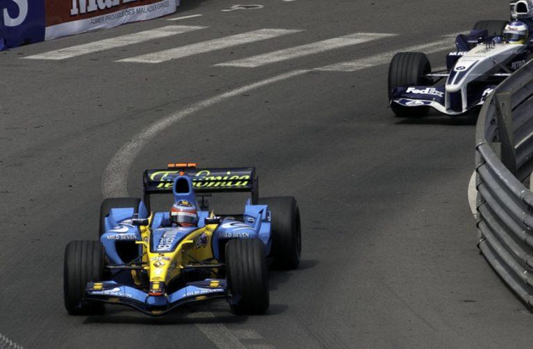 モナコGPでのルノーは美しい車体