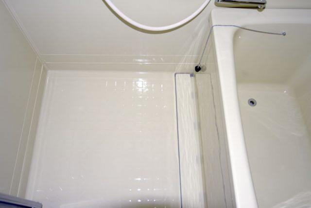 浴室コーティングコーティング後のユニットバスの床