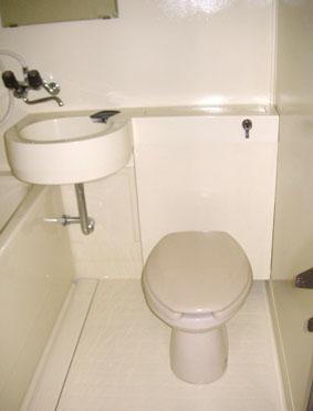 ピカピカの浴室コーティング