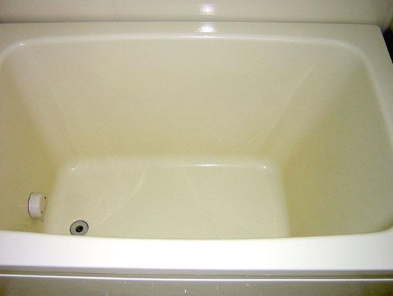 浴槽コーティングでピカピカ