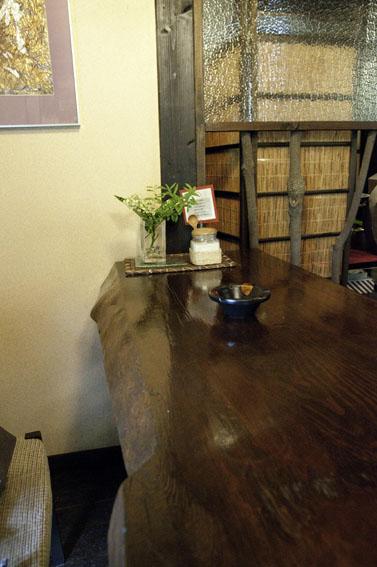 郷屋敷のおしゃれな喫茶店