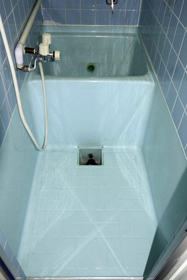 ハーフユニットのお風呂