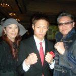 石田匠選手とリプロ社長と女王陛下