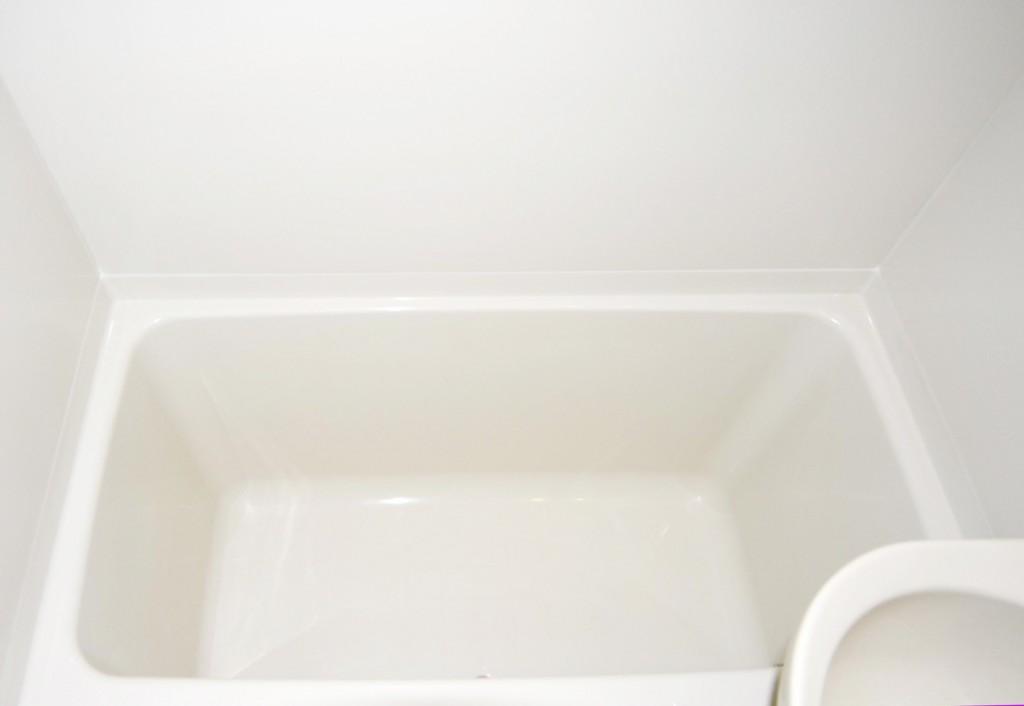 浴槽塗装後