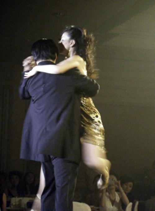 杉本彩さんのダンス