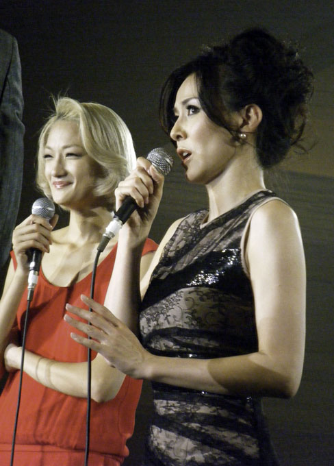杉本彩さんと富永愛さんがピンクリボンを語る