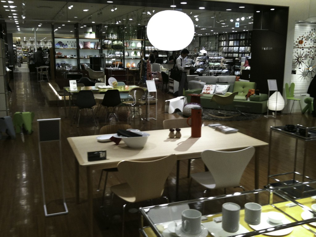 WIRED CAFEの店内