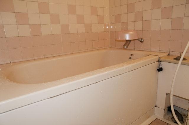 分譲マンションの浴槽