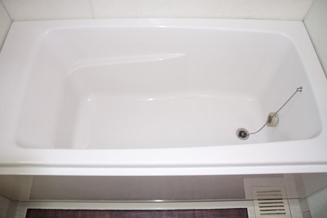 浴槽コーティング後のバスタブ