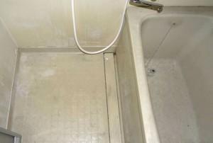 ユニットバスの床の劣化