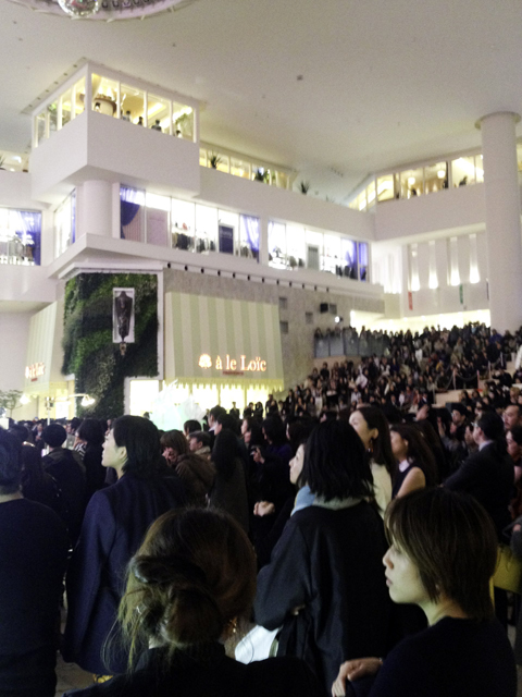 阪急百貨店9階のFNOオープニング