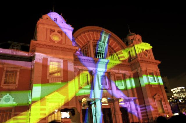 光のショーの中央公会堂3
