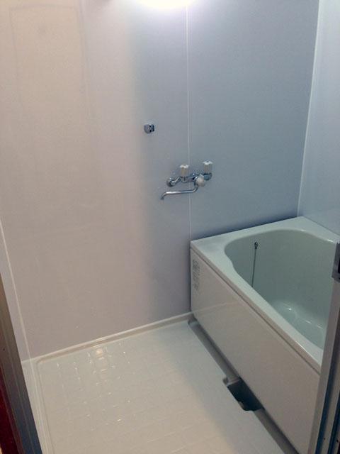 リフォーム後のマンションのお風呂