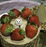 面白い窪田秀樹さんのクリスマスケーキの写真