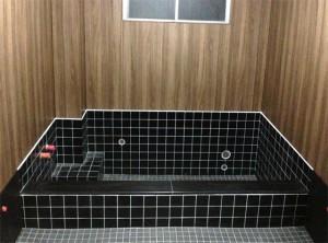 白鳳旅館のお風呂リフォームの施工後