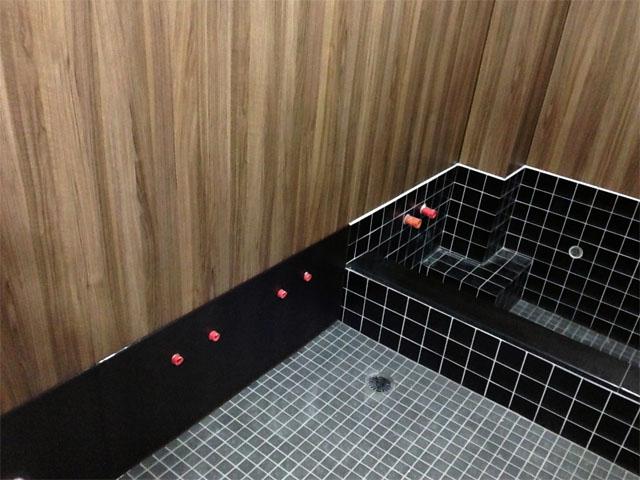 白鳳旅館の風呂リフォームの施工後2